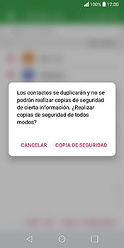 ¿Tu equipo puede copiar contactos a la SIM card? - LG Q6 - Passo 10
