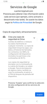 Crea una cuenta - Samsung Galaxy A80 - Passo 16