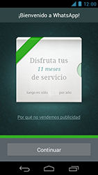 Configuración de Whatsapp - Motorola RAZR D3 XT919 - Passo 9