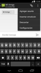 Envía fotos, videos y audio por mensaje de texto - Motorola Moto G - Passo 7