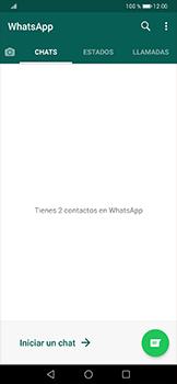 Usar WhatsApp - Huawei P30 Pro - Passo 3