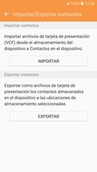 ¿Tu equipo puede copiar contactos a la SIM card? - Samsung Galaxy S7 - G930 - Passo 7