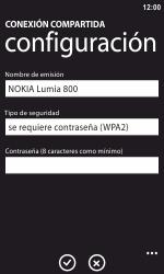 Configura el hotspot móvil - Nokia Lumia 800 - Passo 7