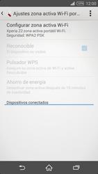 Configura el hotspot móvil - Sony Xperia Z2 D6503 - Passo 11