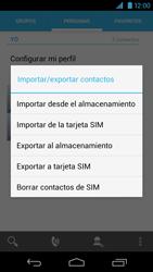 ¿Tu equipo puede copiar contactos a la SIM card? - Motorola RAZR HD  XT925 - Passo 6