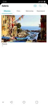 Transferir fotos vía Bluetooth - LG G7 ThinQ - Passo 4