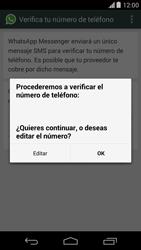 Configuración de Whatsapp - Motorola Moto X (2a Gen) - Passo 6