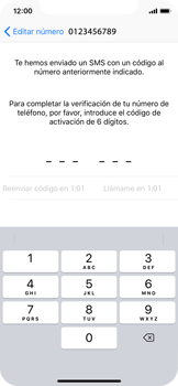 Configuración de Whatsapp - Apple iPhone XS - Passo 10