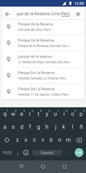 Uso de la navegación GPS - Motorola Moto E5 Play - Passo 6