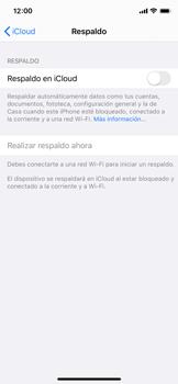 Realiza una copia de seguridad con tu cuenta - Apple iPhone XS - Passo 10