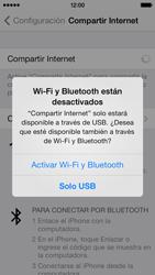 Configura el hotspot móvil - Apple iPhone 5c - Passo 8