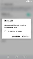 Comparte la conexión de datos con una PC - LG X Cam - Passo 6