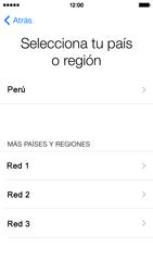 Activa el equipo - Apple iPhone 5c - Passo 5