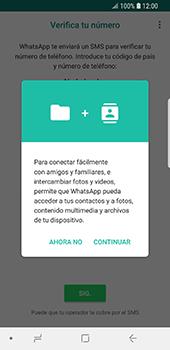 Configuración de Whatsapp - Samsung Galaxy S9 - Passo 5
