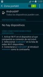 Configura el hotspot móvil - Samsung Galaxy Alpha - G850 - Passo 11