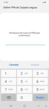 Cómo habilitar Carpeta Segura - Samsung Galaxy S20 - Passo 15