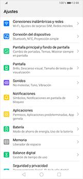 Limpieza de aplicación - Huawei P30 Pro - Passo 2