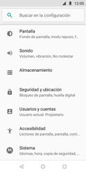 Desbloqueo del equipo por medio del patrón - Motorola Moto E5 Play - Passo 4
