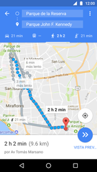 Uso de la navegación GPS - Motorola Moto G5 - Passo 18