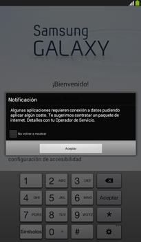 Activa el equipo - Samsung Galaxy Tab 3 7.0 - Passo 3