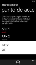 Configura el Internet - Nokia Lumia 1320 - Passo 21