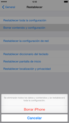Restaura la configuración de fábrica - Apple iPhone 6 - Passo 6