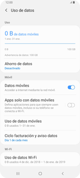 Desactiva tu conexión de datos - Samsung Galaxy A80 - Passo 5