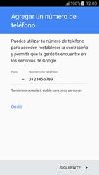 Crea una cuenta - Samsung Galaxy J5 - J500F - Passo 13