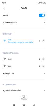 Configura el WiFi - Xiaomi Redmi Note 9 Pro - Passo 8