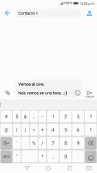 Envía fotos, videos y audio por mensaje de texto - Huawei P9 Lite 2017 - Passo 13
