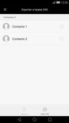 ¿Tu equipo puede copiar contactos a la SIM card? - Huawei Ascend Mate 7 - Passo 7