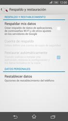 Restaura la configuración de fábrica - Sony Xperia E 4G - Passo 5