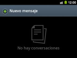 Envía fotos, videos y audio por mensaje de texto - Samsung Galaxy Y Pro GT - B5510 - Passo 2