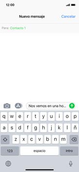 Envía fotos, videos y audio por mensaje de texto - Apple iPhone X - Passo 8