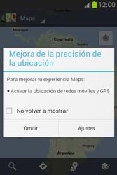 Uso de la navegación GPS - Samsung Galaxy Fame GT - S6810 - Passo 4