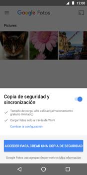 Transferir fotos vía Bluetooth - Motorola Moto E5 - Passo 4