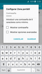 Configura el hotspot móvil - Samsung Galaxy S6 - G920 - Passo 9