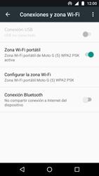 Configura el hotspot móvil - Motorola Moto G5 - Passo 10