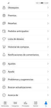 Cambiar configuración de actualizaciones de aplicaciones - Huawei P40 Lite - Passo 6