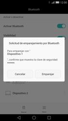 Conecta con otro dispositivo Bluetooth - Huawei Ascend Mate 7 - Passo 7