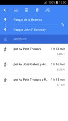 Uso de la navegación GPS - Samsung Galaxy S6 - G920 - Passo 15