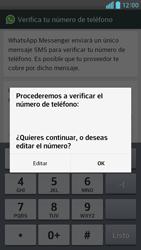 Configuración de Whatsapp - LG Optimus G Pro Lite - Passo 6