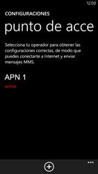 Configura el Internet - Nokia Lumia 1320 - Passo 8