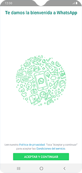 Configuración de Whatsapp - Samsung Galaxy A10 - Passo 4