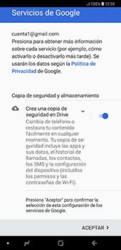 Crea una cuenta - Samsung A7 2018 - Passo 19