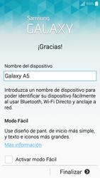 Activa el equipo - Samsung Galaxy A5 - A500M - Passo 15