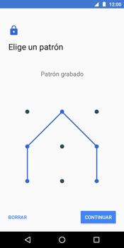 Desbloqueo del equipo por medio del patrón - Motorola Moto E5 - Passo 9