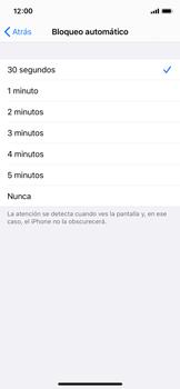 Ajustar el brillo/ Suspensión de pantalla - Apple iPhone XS - Passo 6