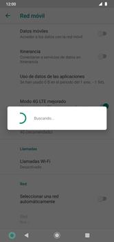 Cómo seleccionar una red en su teléfono manualmente - Motorola Moto G8 Plus (Dual SIM) - Passo 8