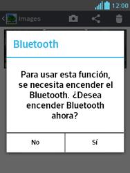 Transferir fotos vía Bluetooth - LG Optimus L3 II - Passo 9